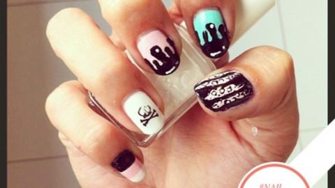 Tuesday's #NailCall: Florals, Pastels & Graphic Shapes | StyleCaster