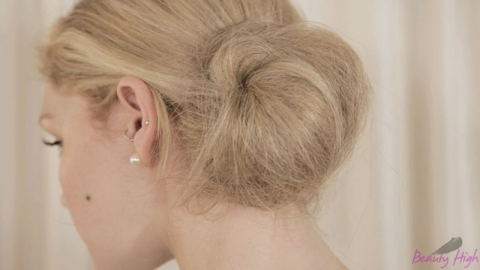 How To Get A Messy Chignon | StyleCaster