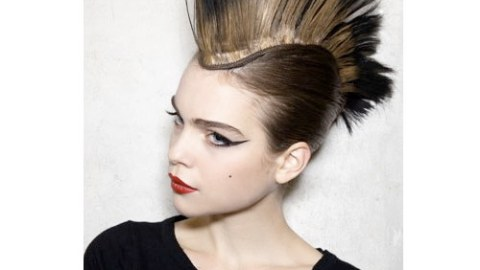 The Crazy & The Demure: Hair from the 2011 Couture Runways | StyleCaster