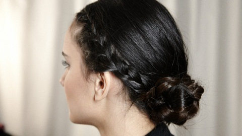 Braided Chignon For Your Next Night Out: Get The Look | StyleCaster