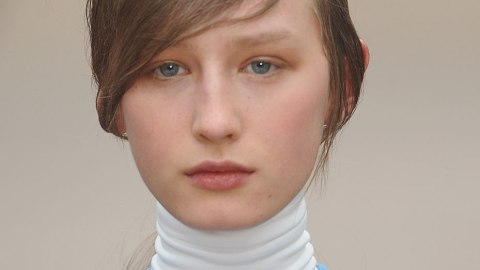 Perfectly Imperfect Bedhead Ponytails at Celine | StyleCaster