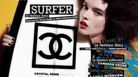Get the Hair from 'Surfer' with Crystal Renn | StyleCaster