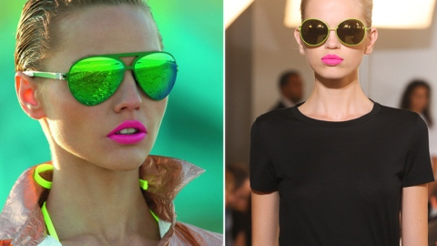 Fluorescent Lips: Get The Electric Look For Spring | StyleCaster