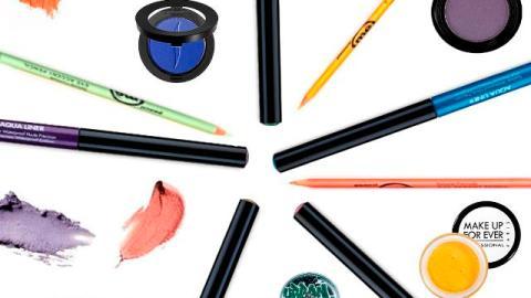 Summer Makeup Trend: Colorful Rimmed Eyes | StyleCaster