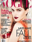Emma Watson Layers On The Lip For Vogue