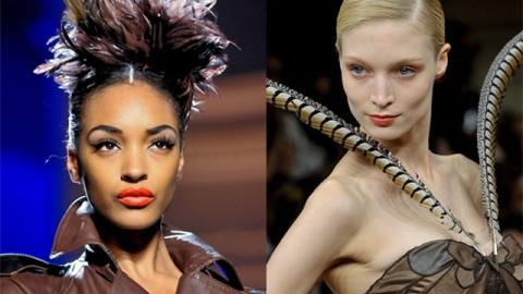 The Feathers Just Keep Coming: Paris Couture Trend | StyleCaster