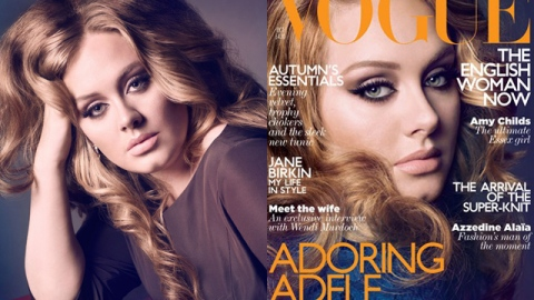 Adele Looks Stunning in Vogue UK, Proclaims Body Confidence | StyleCaster