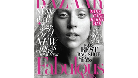 Lady Gaga Looks Shockingly Human on Bazaar's October Cover | StyleCaster