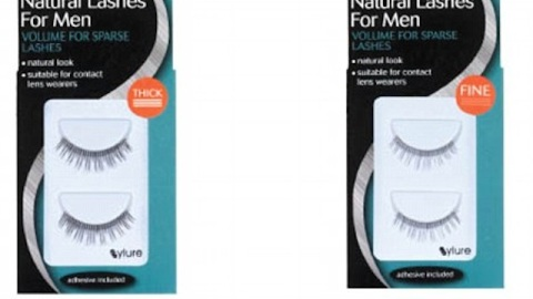 Would You Let Your Man Wear Fake Lashes? | StyleCaster