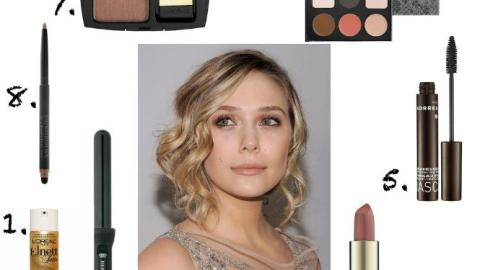 Get Elizabeth Olsen's Pretty Waves and Taupe Lip | StyleCaster