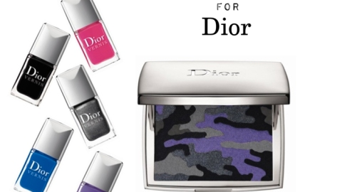 Anselm Reyle for Dior Beauty Collection | StyleCaster