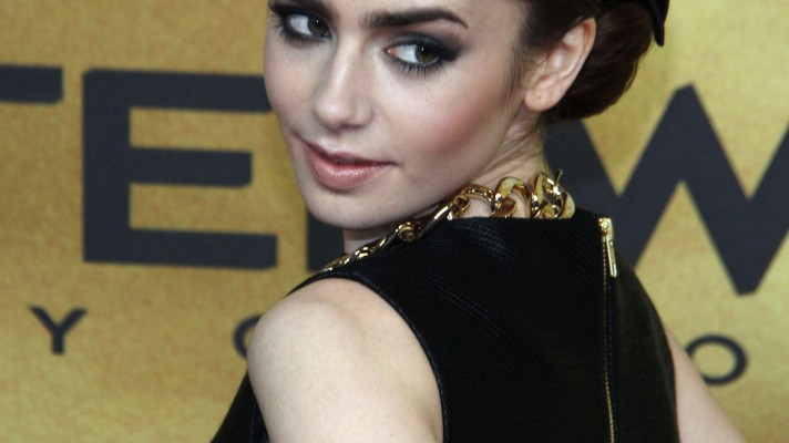 """Lily Collins' Hairstylist: """"I Know She Can Pull Off Anything"""""""