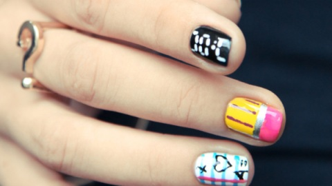 Back-to-School Nail Art to Send You To the Head of the Class | StyleCaster