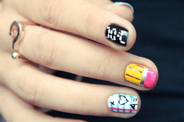 Back-to-School Nail Art to Send You To the Head of the Class