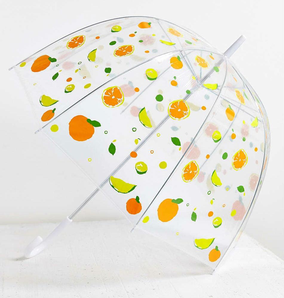 34236380 072 b1 Editors Pick: A Fun Bubble Umbrella Covered in Fruit—for $20