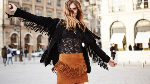 17 Ways to Wear a Brown Suede Skirt | StyleCaster
