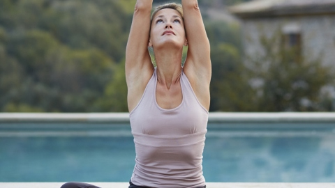 Amazing Yoga Poses That Help You De-Stress | StyleCaster