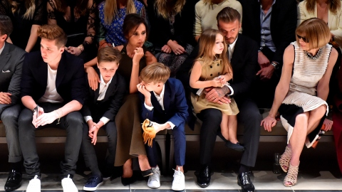 These Beckham Family Shots Are Adorable | StyleCaster