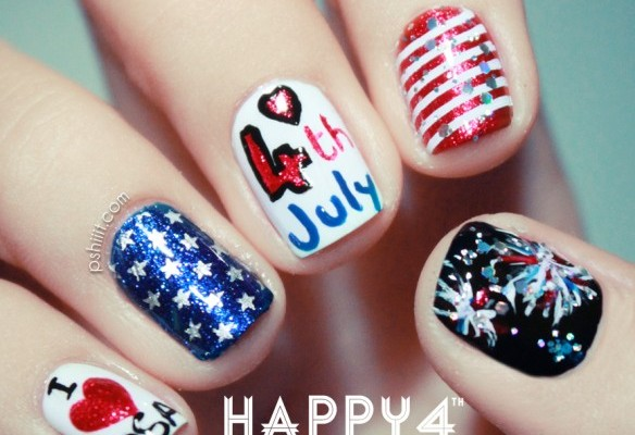 4th of July Nail Art Ideas to Steal the Show This Independence Day
