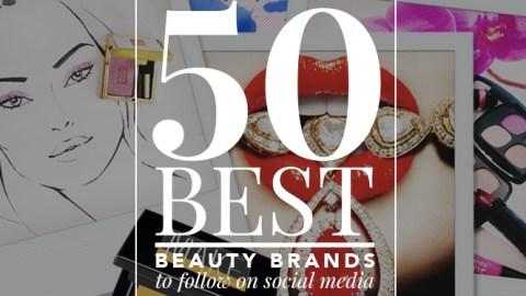 50 Best Beauty Brands to Follow on Social Media | StyleCaster