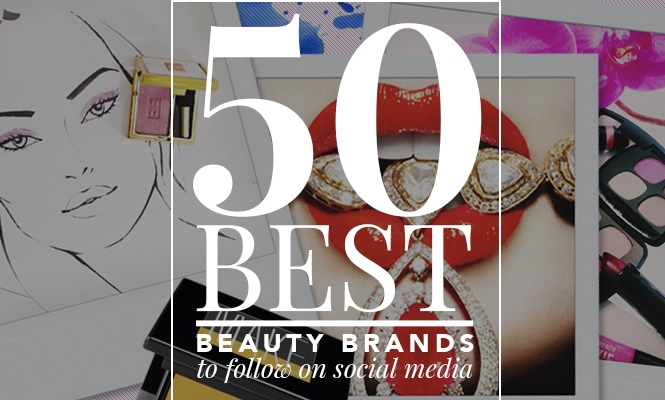 50 Best Beauty Brands to Follow on Social Media