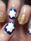 Chanukah Nail Art for Every Night and Then Some