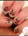 Tuesday's #NailCall: Roses & Gold Foil, Plus Salma Hayek Gives Away Polish!