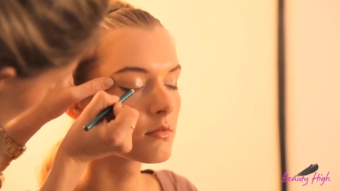 How To Apply Colored Eyeliner | StyleCaster