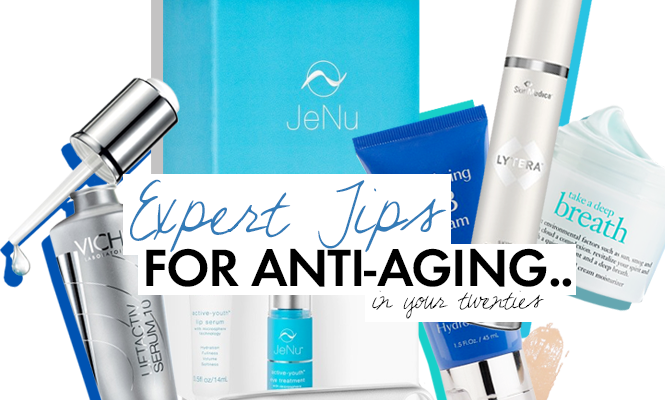 Why You Need to Start Using Anti-Aging Products in Your Twenties