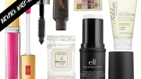 Back-to-School Beauty: On the Go Essentials For Your Backpack | StyleCaster