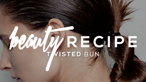 How to Get This Slick Twisted Bun From the Runway | StyleCaster