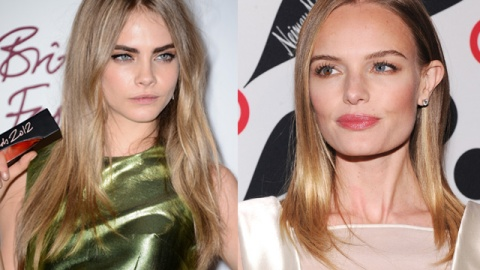 Best of the Week: Kate Bosworth, Cara Delevingne & More Sport Pale Lips & Bold Brows | StyleCaster