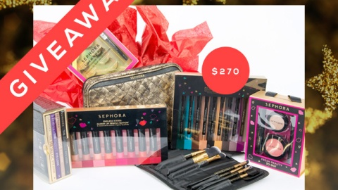 Win a Jaw-Dropping Sephora Gift Set! | StyleCaster