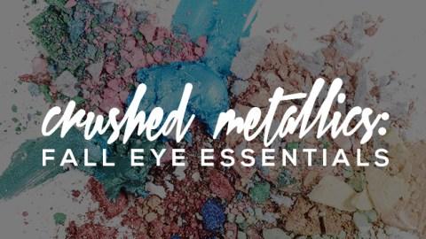 Metallic Eyeshadows Are Crushing It This Fall | StyleCaster