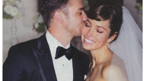 First Look: Jessica Biel's Wedding Day Beauty Look   StyleCaster