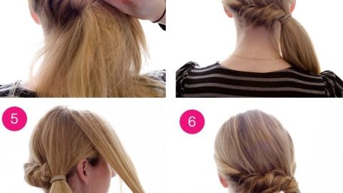 How To Get a Side Pony Roll-and-Twist | StyleCaster