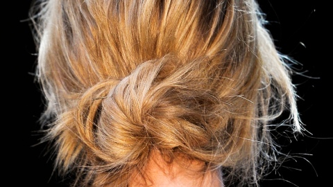 The Foolproof Guide to a Messy Bun | StyleCaster