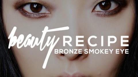 How to Wear a Bronze Smokey Eye   StyleCaster