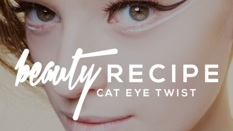 A Cat Eye With a Twist | StyleCaster