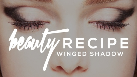 How to Nail the Winged Eyeshadow Look   StyleCaster