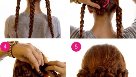 How To: Get a Triple Braided Bun | StyleCaster