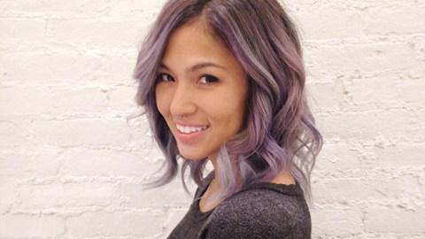 How to Dye Dark Hair Pastel | StyleCaster