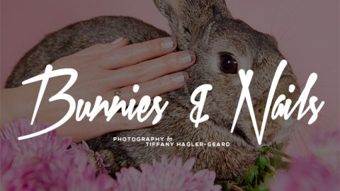 Bunnies and Nail Art: The Ideal Spring Combo | StyleCaster