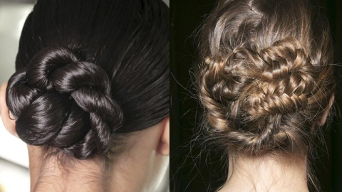 Elegent Bun Hairstyles You Can DIY | StyleCaster
