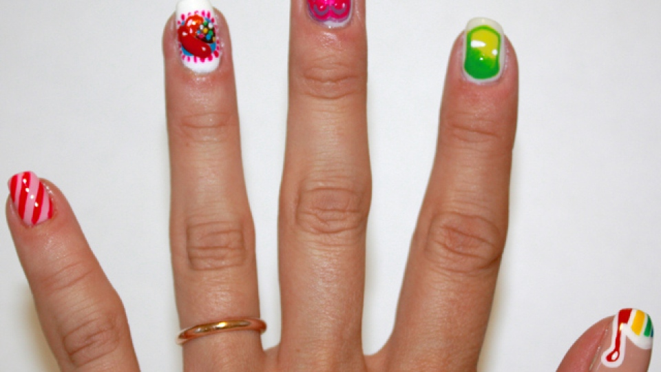Get Candy Crush Nails to Go With Your Game Obsession | StyleCaster