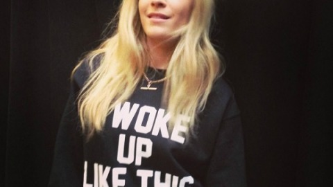 Beauty Talk With DJ Chelsea Leyland Backstage at DKNY | StyleCaster