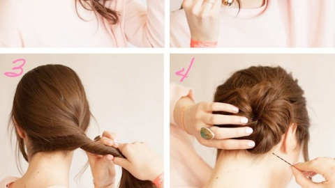 Learn How to Do This Messy Chignon All By Yourself | StyleCaster