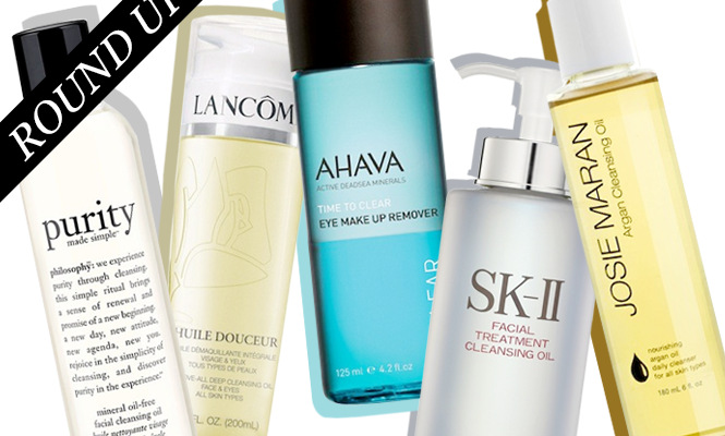 About Face: 10 Amazing Cleansing Facial Oils