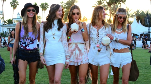 All the Celebs Partying at Coachella  | StyleCaster