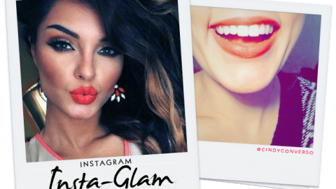 Instagram Insta-Glam: Crushing on Coral Lipstick | StyleCaster